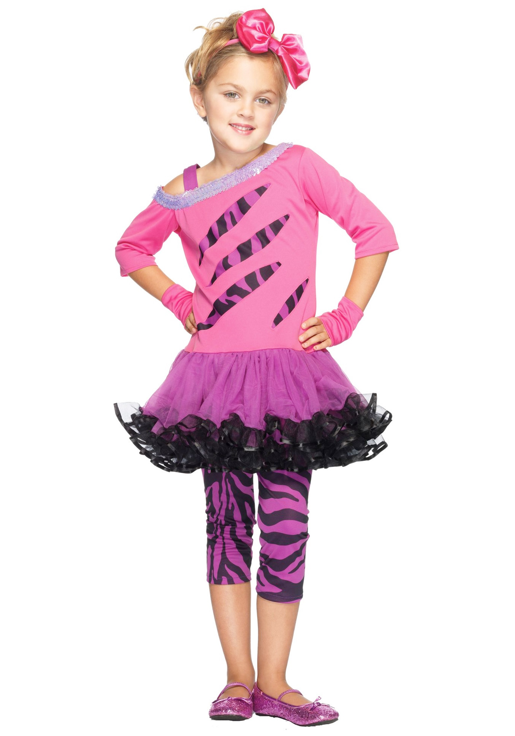 Girls Retro Rockstar Costume - Halloween Costumes