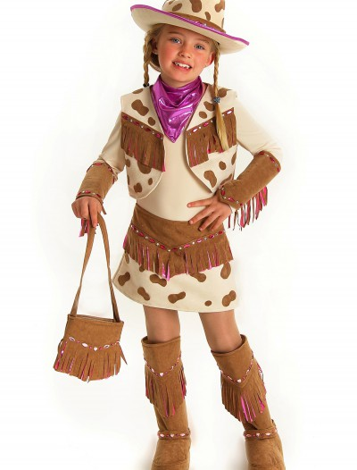 Girls Rhinestone Cowgirl Costume, halloween costume (Girls Rhinestone Cowgirl Costume)