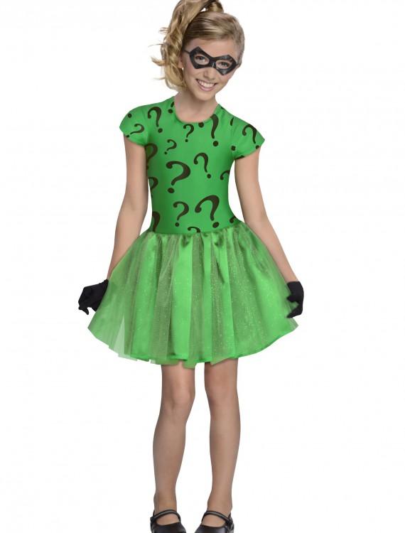 Girls Riddler Tutu Costume, halloween costume (Girls Riddler Tutu Costume)