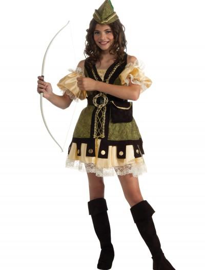 Girls Robyn Hood Costume, halloween costume (Girls Robyn Hood Costume)