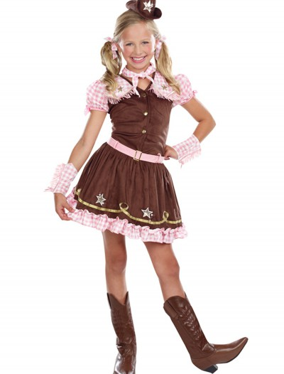 Girls Rodeo Star Costume, halloween costume (Girls Rodeo Star Costume)