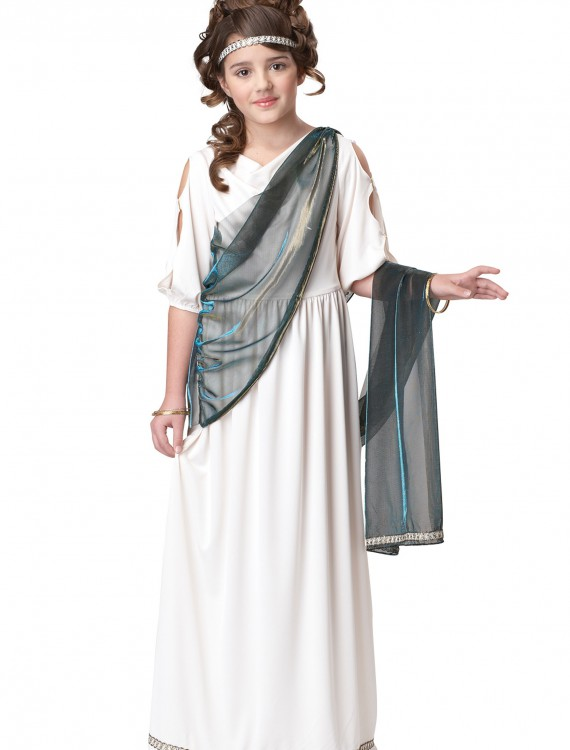 Girls Roman Princess Costume, halloween costume (Girls Roman Princess Costume)