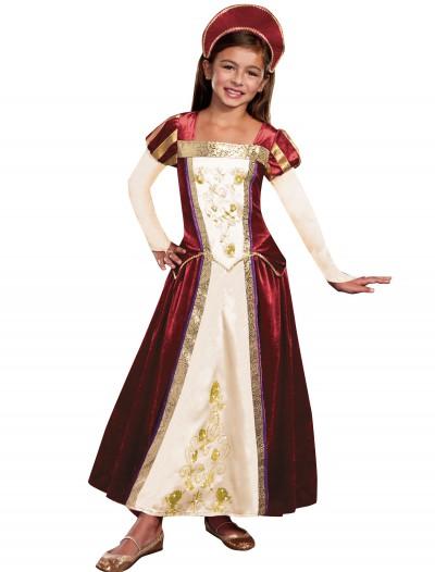 Girls Royal Maiden Costume, halloween costume (Girls Royal Maiden Costume)