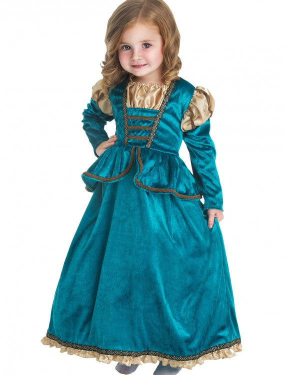 Girls Scottish Princess Costume, halloween costume (Girls Scottish Princess Costume)