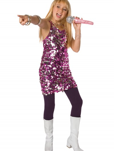 Girls Sequin Diva Dress Costume, halloween costume (Girls Sequin Diva Dress Costume)