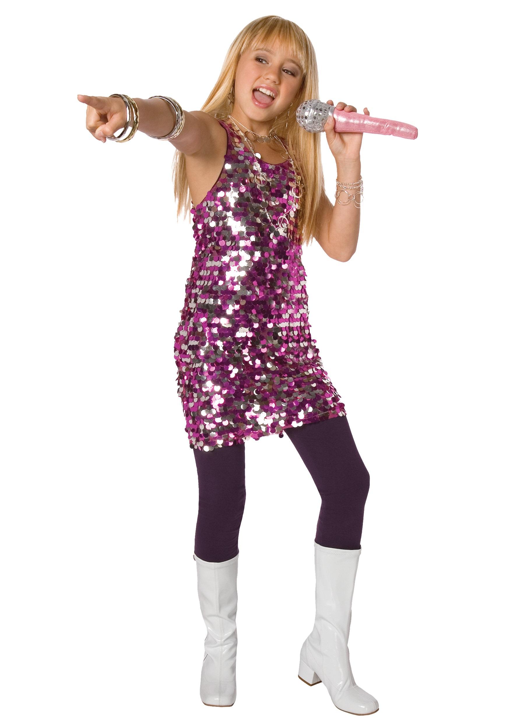 girls sequin diva dress costume