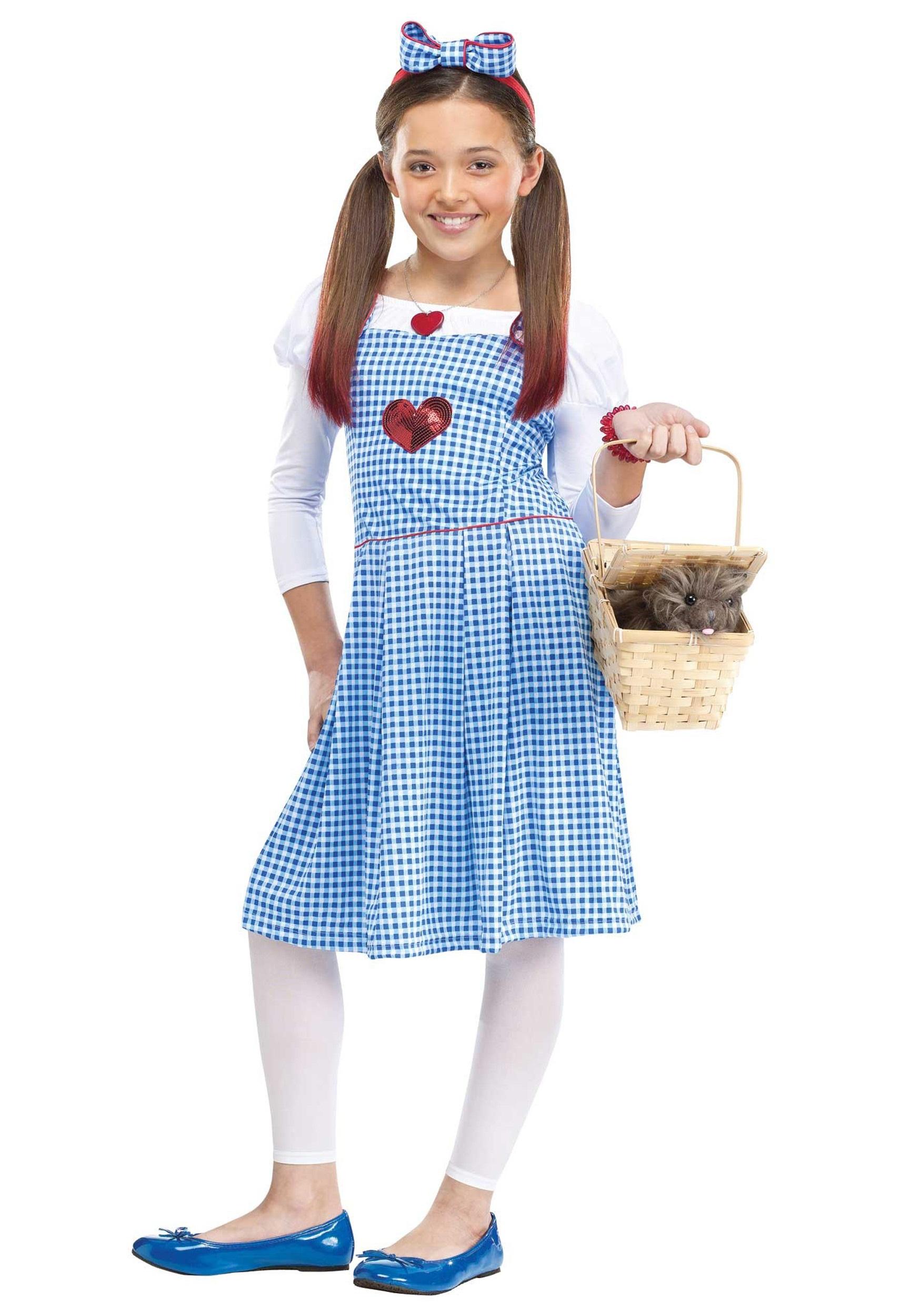 girls sequin heart kansas girl costume