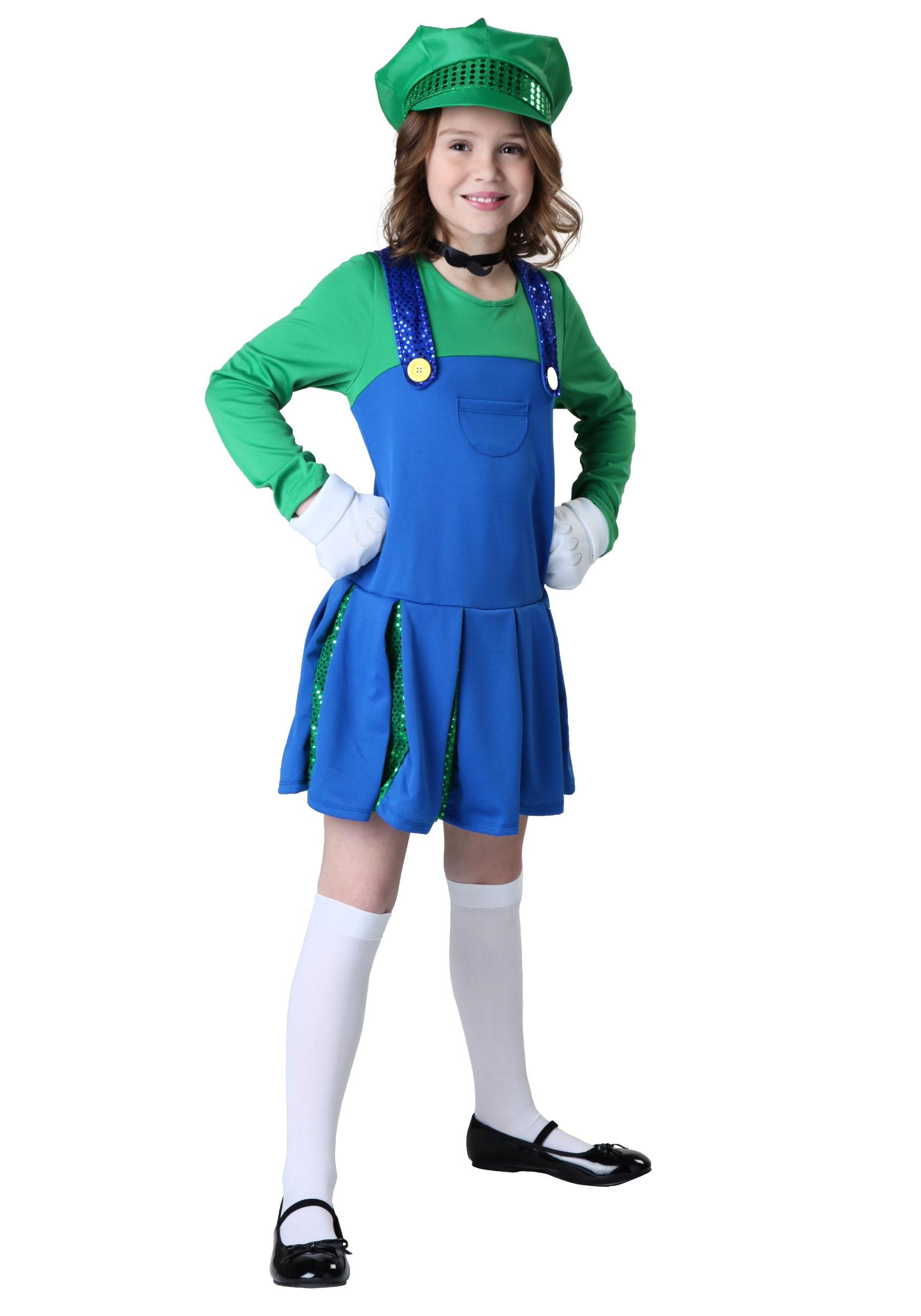 girls sidekick louisa costume