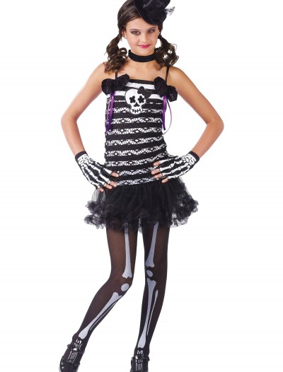 Girls Skeleton Costume, halloween costume (Girls Skeleton Costume)