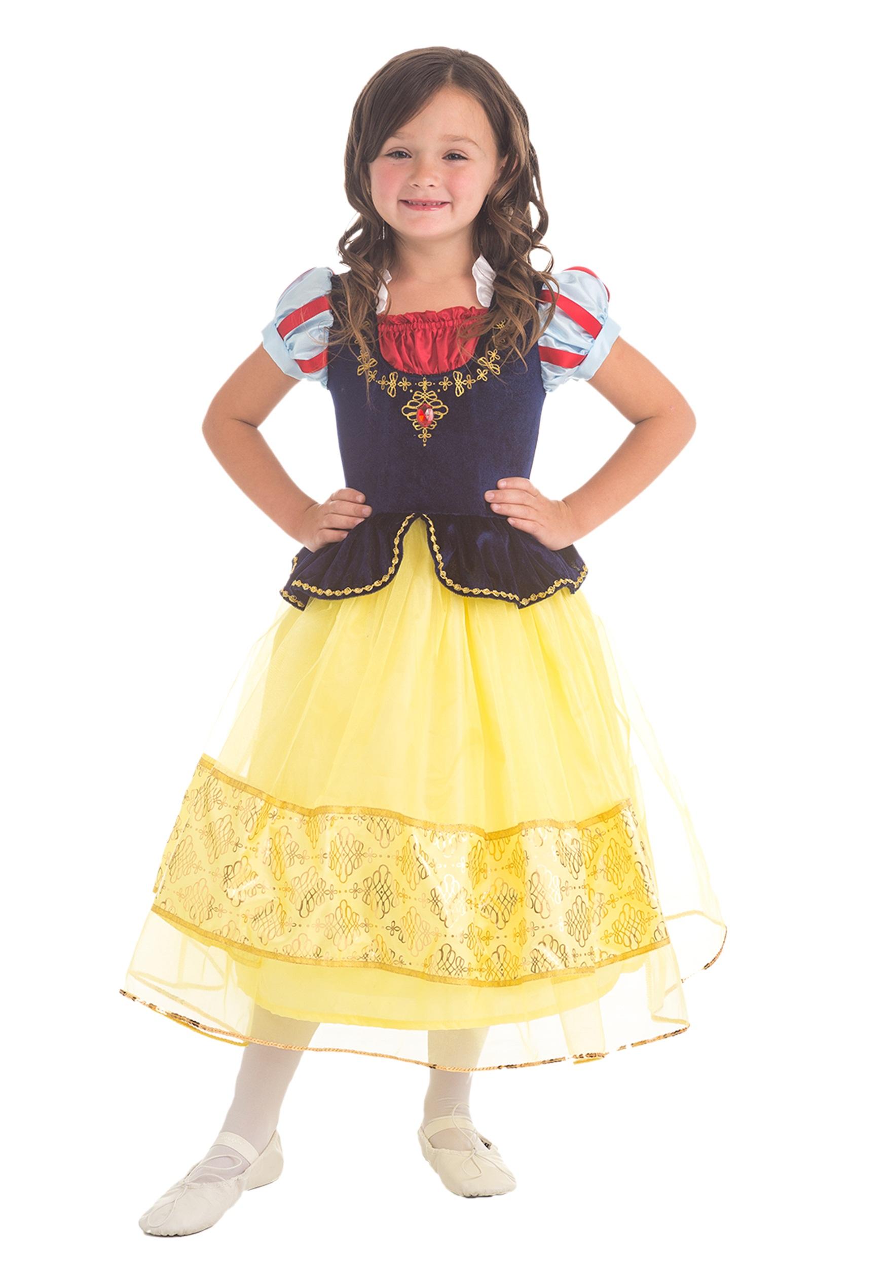 Girls Snow White Costume  sc 1 st  Halloween Costumes & Girls Snow White Costume - Halloween Costumes
