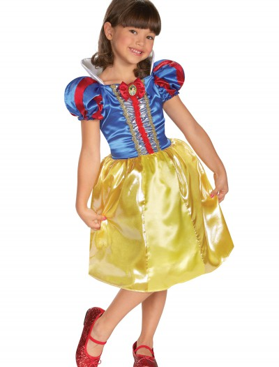 Girls Snow White Sparkle Classic Costume, halloween costume (Girls Snow White Sparkle Classic Costume)