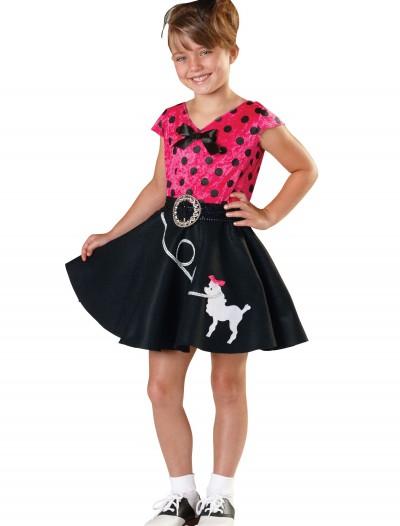 Girls Sock Hop Sweetie Costume, halloween costume (Girls Sock Hop Sweetie Costume)
