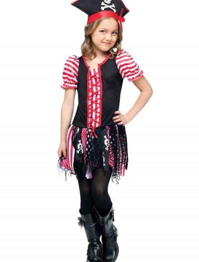 Girls Stowaway Sweetie Pirate Costume, halloween costume (Girls Stowaway Sweetie Pirate Costume)