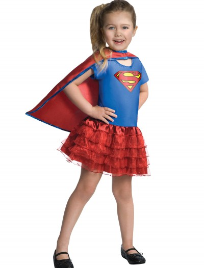 Girls Supergirl Tutu Set, halloween costume (Girls Supergirl Tutu Set)