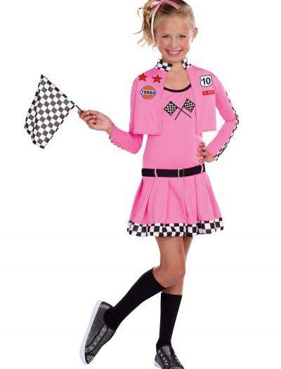 Girls Sweet Racer Costume, halloween costume (Girls Sweet Racer Costume)