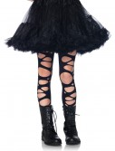 Girls Tattered Gothic Tights, halloween costume (Girls Tattered Gothic Tights)