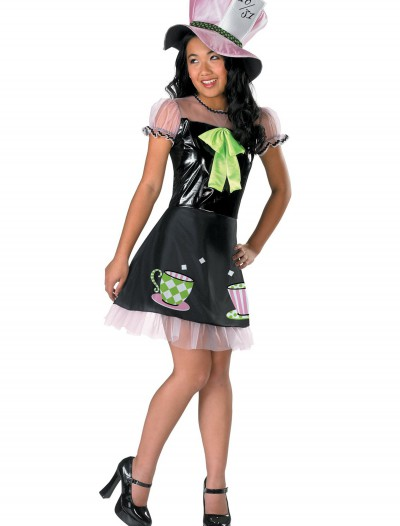 Girls Tea Time Mad Hatter Costume, halloween costume (Girls Tea Time Mad Hatter Costume)