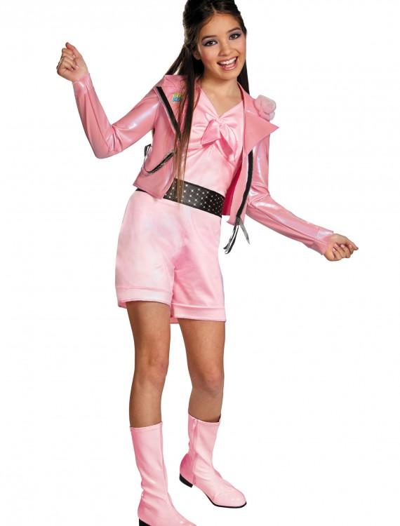 Girls Teen Beach Lela Biker Deluxe Costume, halloween costume (Girls Teen Beach Lela Biker Deluxe Costume)
