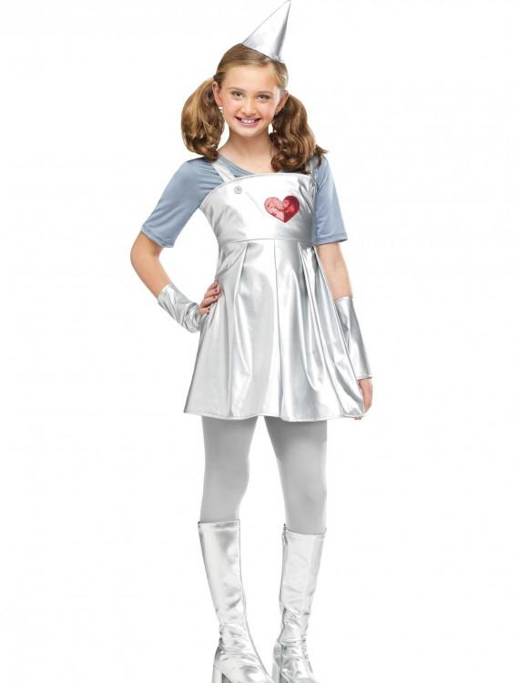 Girls Tin Gal Costume, halloween costume (Girls Tin Gal Costume)
