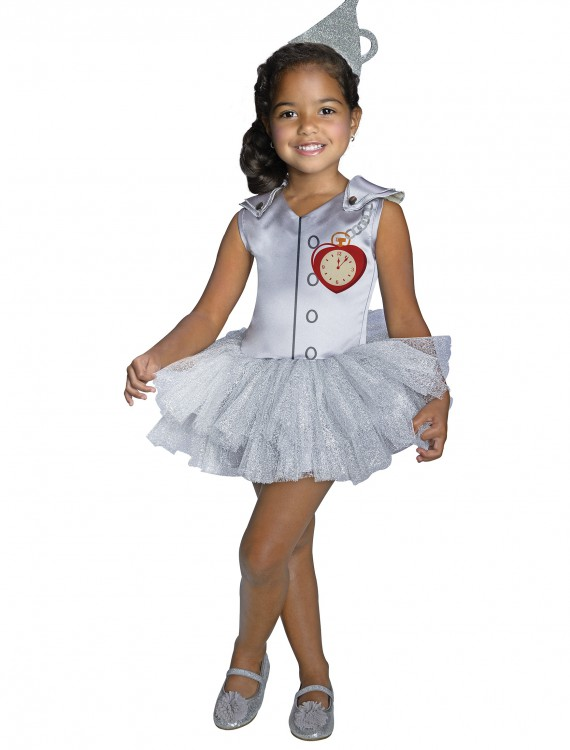 Girls' Tin Girl Tutu Costume, halloween costume (Girls' Tin Girl Tutu Costume)