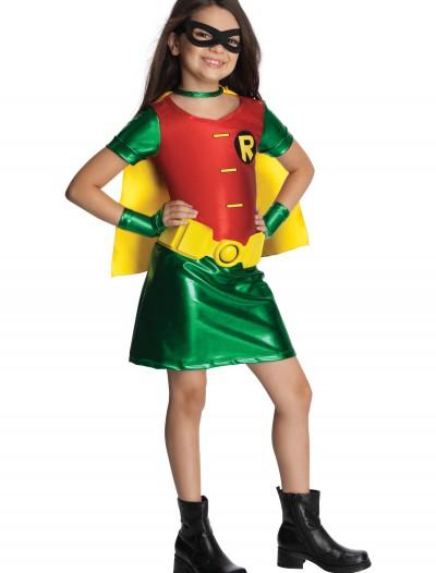 Girls Titans Robin Costume, halloween costume (Girls Titans Robin Costume)