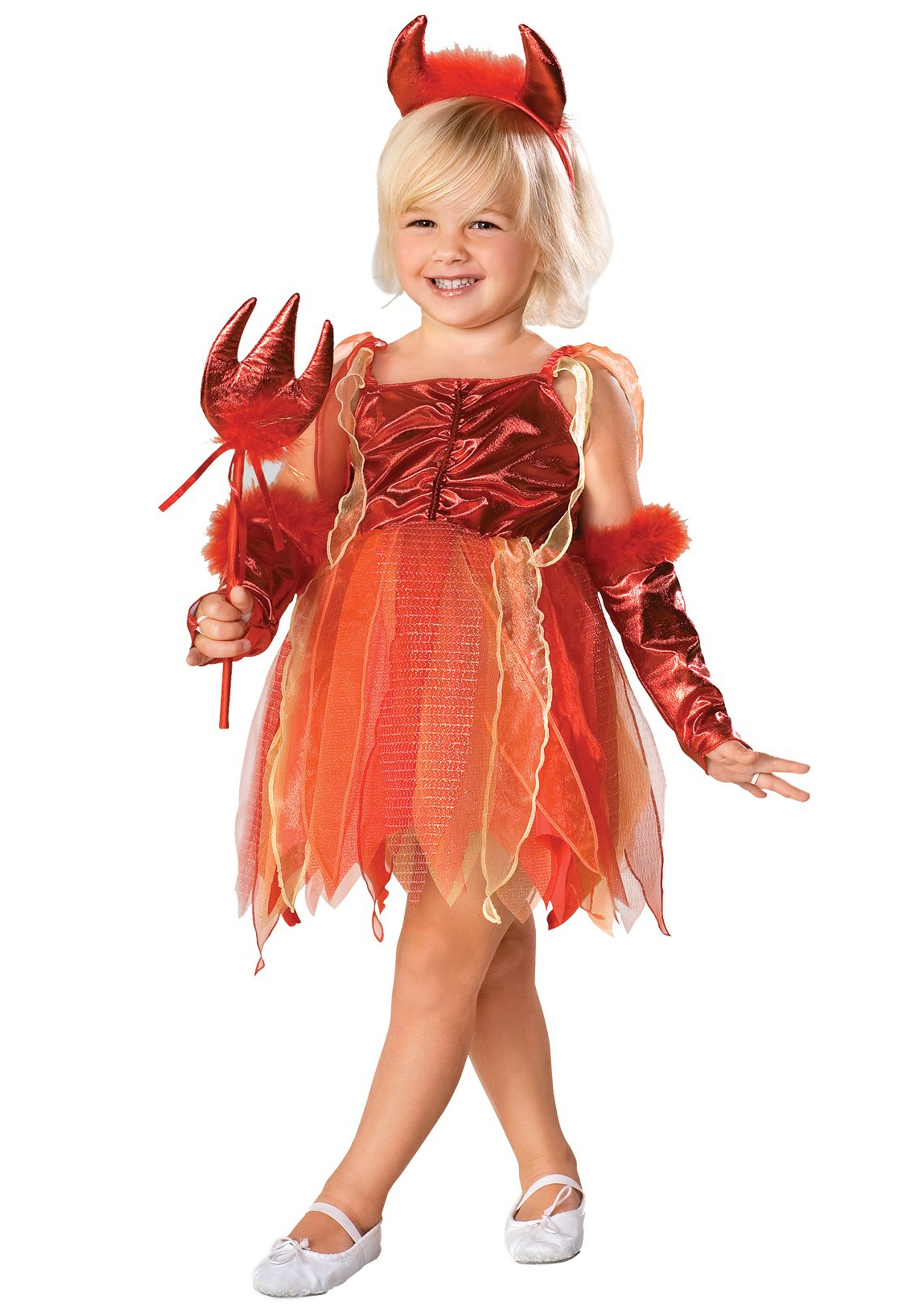 girls toddler devil costume - halloween costumes