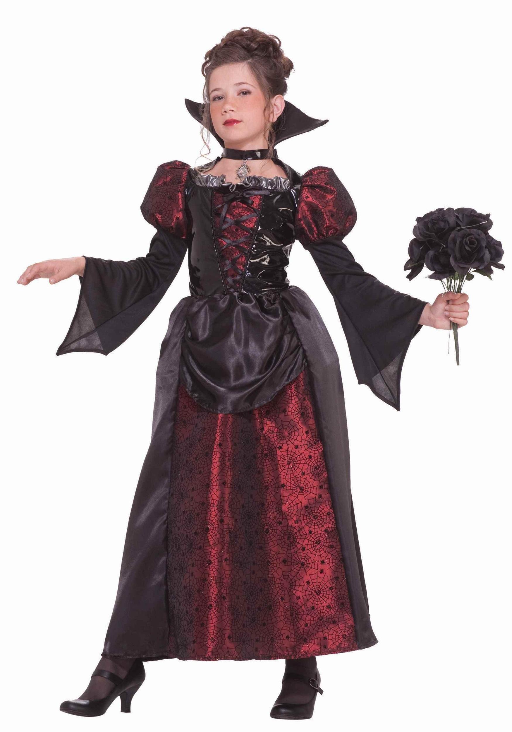 Girls V&ire Miss Costume  sc 1 st  Halloween Costumes & Girls Vampire Miss Costume - Halloween Costumes