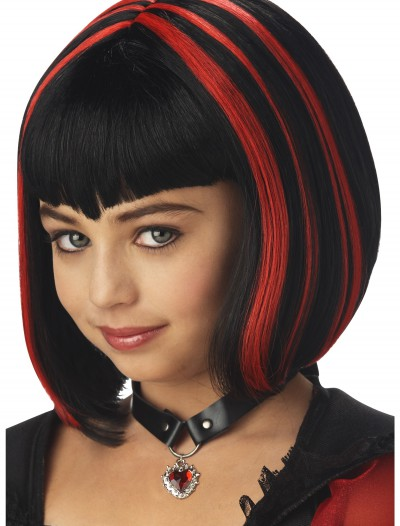 Girl's Vampire Wig, halloween costume (Girl's Vampire Wig)