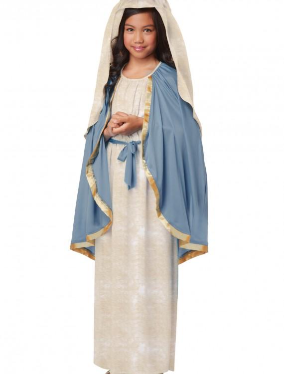 Girls Virgin Mary Costume, halloween costume (Girls Virgin Mary Costume)