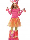Girls Wild Child Monster Costume, halloween costume (Girls Wild Child Monster Costume)