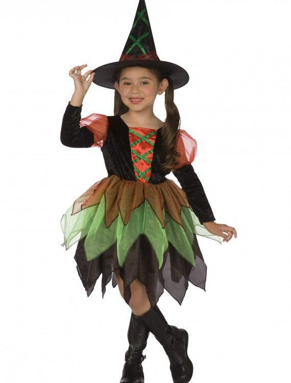 Girls Witch Costume, halloween costume (Girls Witch Costume)
