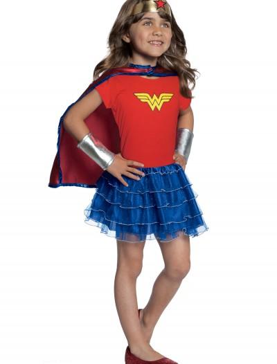 Girls Wonder Woman Tutu Set, halloween costume (Girls Wonder Woman Tutu Set)