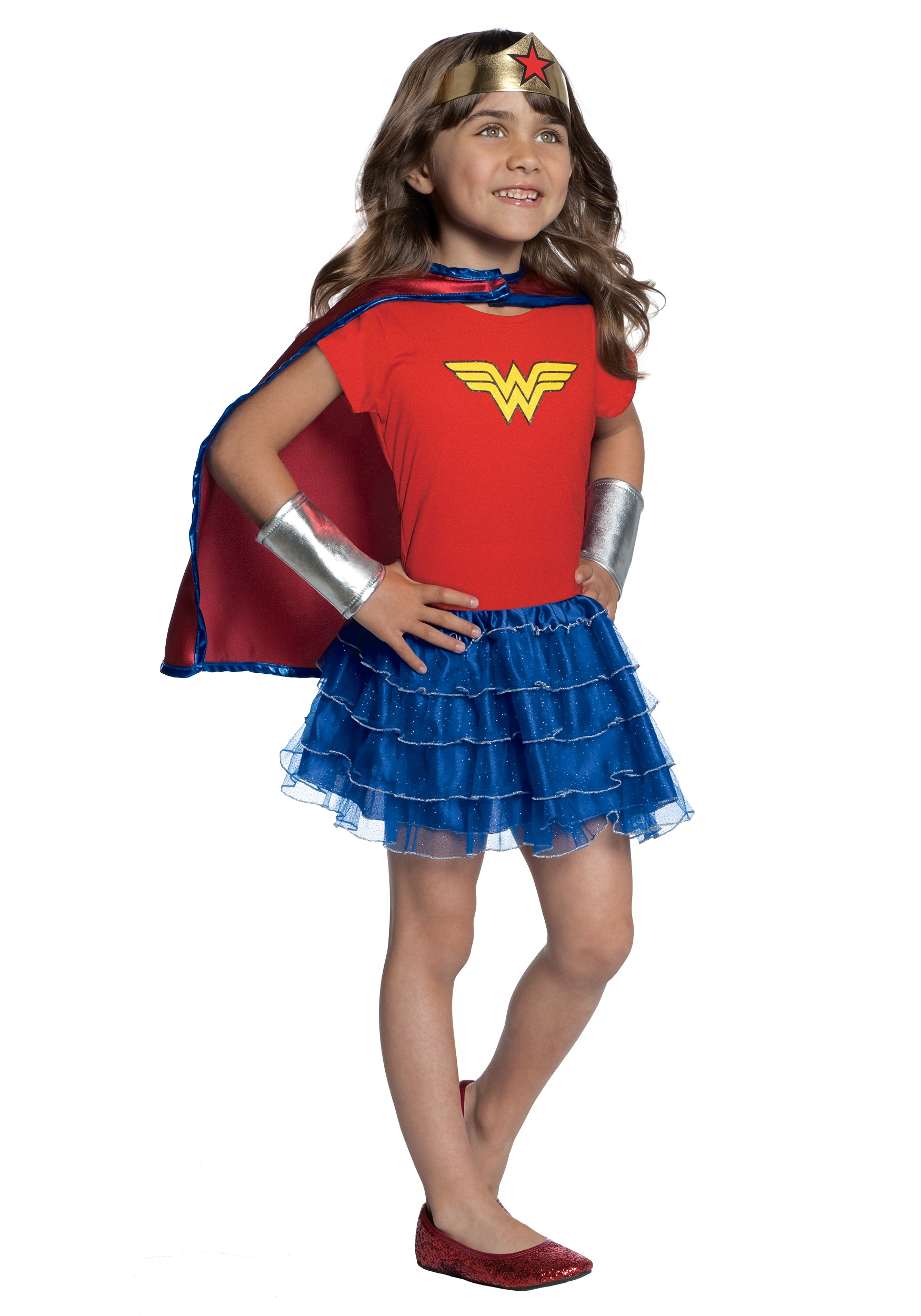 Girls Wonder Woman Tutu Set  sc 1 st  Halloween Costumes & Girls Wonder Woman Tutu Set - Halloween Costumes