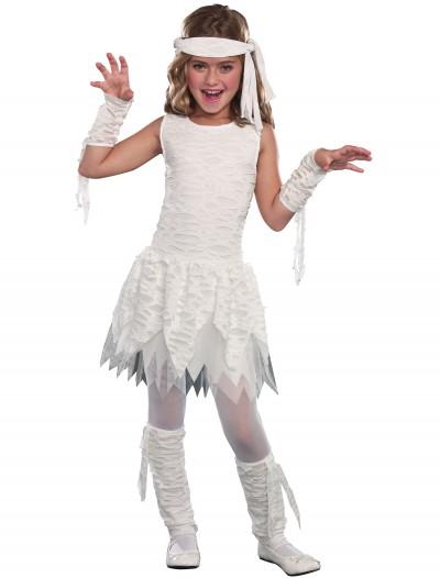 Girls Wrap it Up Mummy Costume, halloween costume (Girls Wrap it Up Mummy Costume)