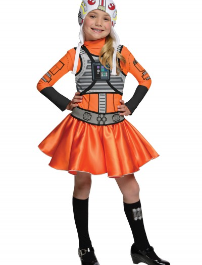 Girls X-Wing Fighter Costume, halloween costume (Girls X-Wing Fighter Costume)