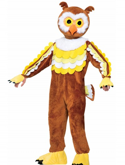 Give A Hoot Owl Mascot Costume, halloween costume (Give A Hoot Owl Mascot Costume)