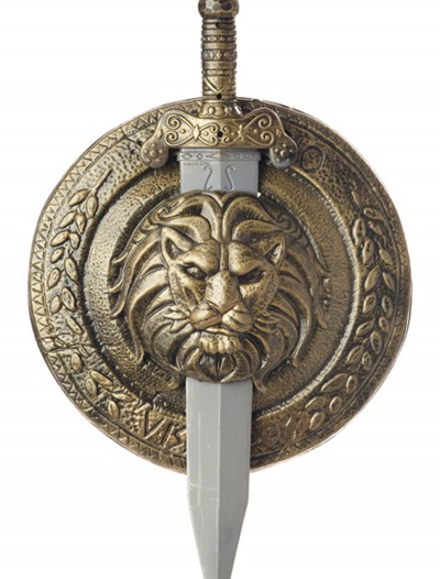 Gladiator Combat Shield and Sword, halloween costume (Gladiator Combat Shield and Sword)