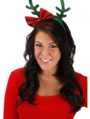 Glitter Antlers with Bow, halloween costume (Glitter Antlers with Bow)