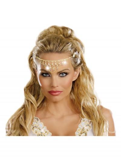 Glittering Rhinestone Headpiece, halloween costume (Glittering Rhinestone Headpiece)