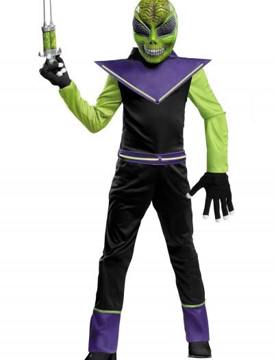 Glow in the Dark Alien Costume, halloween costume (Glow in the Dark Alien Costume)