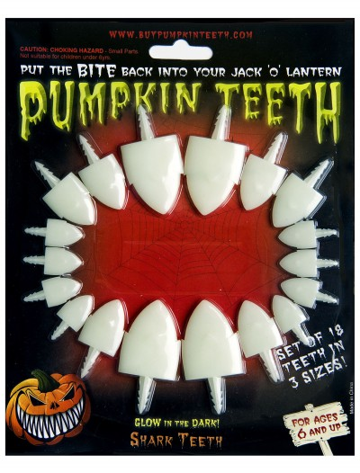 Glow-in-the-Dark Shark Teeth, halloween costume (Glow-in-the-Dark Shark Teeth)