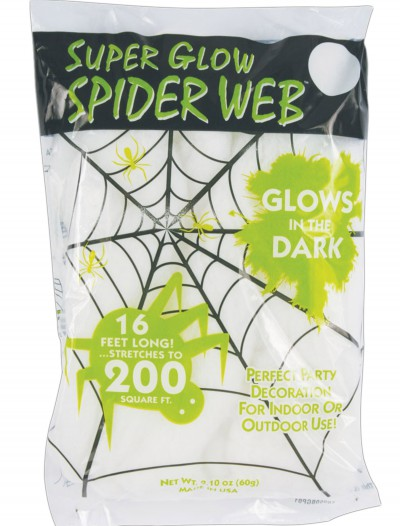 Glow in the Dark Spider Webs, halloween costume (Glow in the Dark Spider Webs)