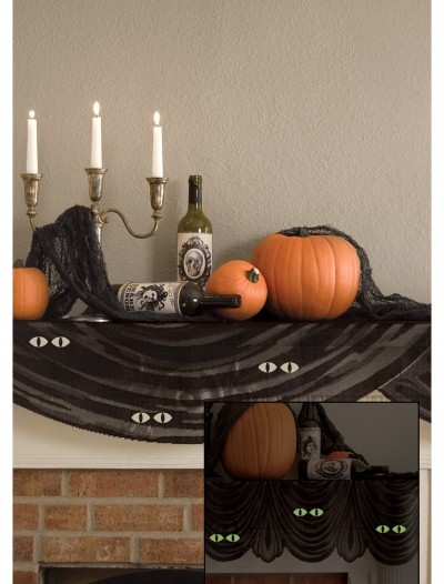 Glowing Eyes Mantle Scarf, halloween costume (Glowing Eyes Mantle Scarf)