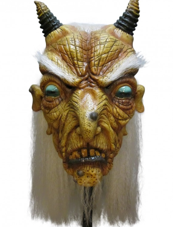 Goat Witch Mask, halloween costume (Goat Witch Mask)
