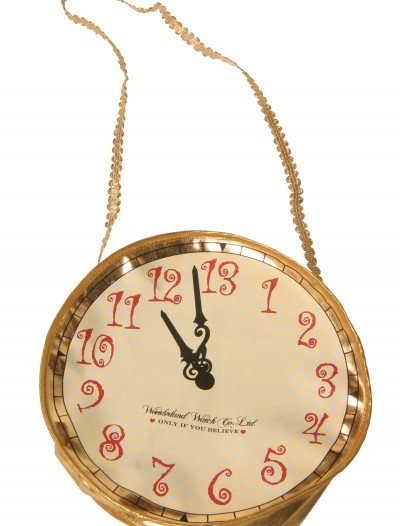 Gold Alice Clock Purse, halloween costume (Gold Alice Clock Purse)