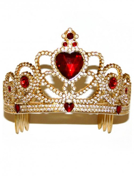 Gold and Red Princess Crown, halloween costume (Gold and Red Princess Crown)
