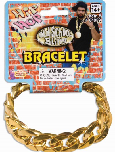 Gold Chain Link Bracelet, halloween costume (Gold Chain Link Bracelet)