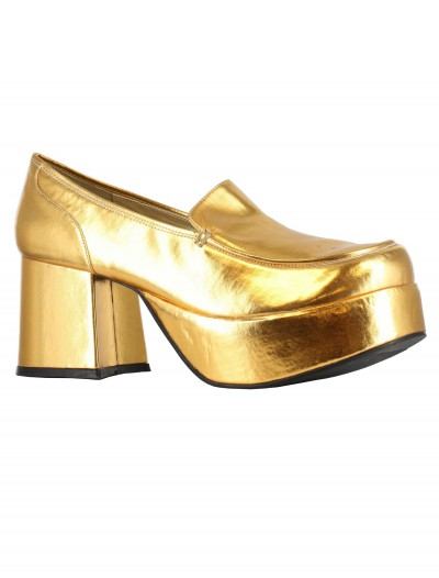 Gold Daddio Pimp Shoes, halloween costume (Gold Daddio Pimp Shoes)