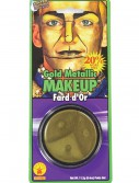 Gold Face Paint, halloween costume (Gold Face Paint)