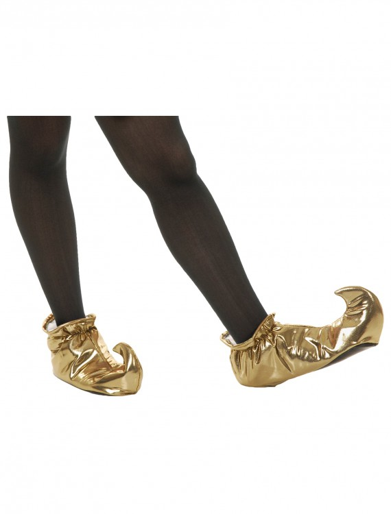 Gold Genie Shoes, halloween costume (Gold Genie Shoes)